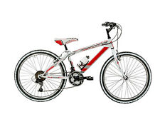 "Bicicletta MTB Full suspension GALANT VRT24 ragazzo 24"" acciaio shimano 18V bike"
