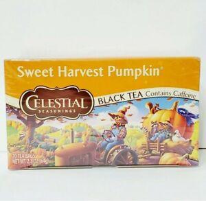 SWEET Harvest Pumpkin: Celestial Seasonings Tea 20 Tea Bags