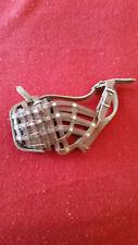 Leather Basket Style Dog Muzzle