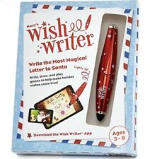 Wish Writer Stylus Pen NIB Write A Magical Letter To Santa Free Apps in Gift Box