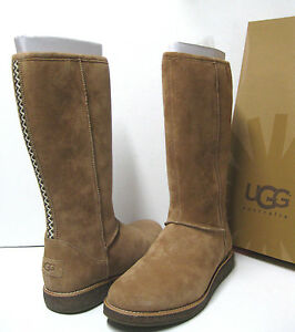 UGG RUE WOMEN TALL BOOTS CHESTNUT US 11 /UK 9.5 /EU 42