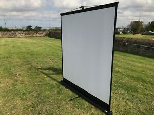 "Projector Screen; Portable Table top model 60"" X 60"""