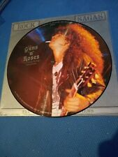 Guns and roses 1988 pressing picture disc interview vinyl, Metallica