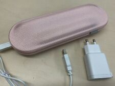 Philips 9351 Rechargeable Toothbrush Electric Travel Case Charger Pink White