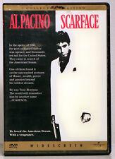 Scarface (DVD, 1998) Al Pacino, Michelle Pfeiffer, Steven Bauer, Robert Loggia