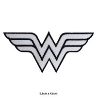 Wonder Woman Super Hero Movie Embroidered Patch Iron on Sew On Badge