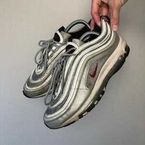 Nike Air Max 97 Silver Bullet Sneakers Trainers Size UK 7.5