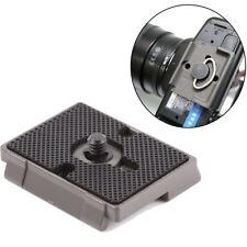 DSLR Camera Tripod Quick Release QR Plate Mount Accessories For Manfrotto 496