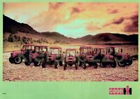 A3 Case IH International David Brown Tractor THE RANGE Brochure Poster Leaflet