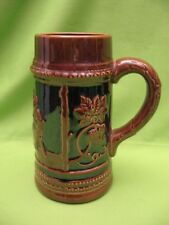"""Vintage """"Occupied Japan"""" Stein - 7"""" Tall, 4"""" In Dia.- Brown - Very Good Cond."""
