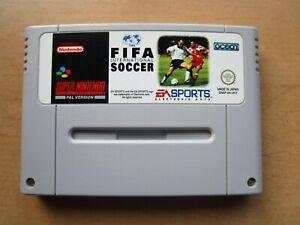 Fifa International Soccer, SNES Super Nintendo Modul, top Zustand, Neuwertig!