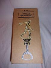 Bowling Bottle Opener Trophy World Champion HEAVY DUTY Beer Soda