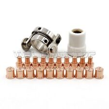 22pc Plasma Torch Electrode Tip Roller Guide for CB50 Eastwood Versa Cut 40A