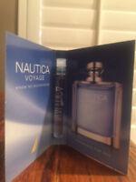 Nautica Voyage Eau De Toilette Spray Mini ~ .05 Fl Oz/1.5 mil ~New with Card~