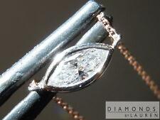 .21ct F-G VS1 Marquise Diamond Necklace R7215 Diamonds by Lauren