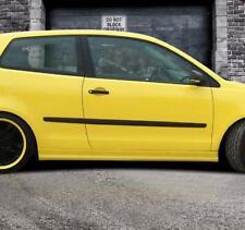 "Gonne Laterali Per VW Polo 4 9N/9N3 2001-2009 in plastica ABS ""STREET-X LOOK"""