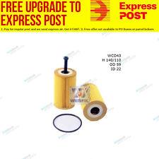 Wesfil Oil Filter WCO43 fits Peugeot 307 1.6 16V,2.0 16V,2.0