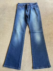 RM Williams Jeans Blue TJ437 Size 10 Bootcut Flare BRAND NEW