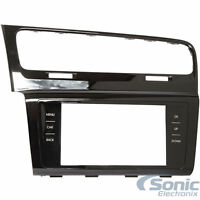 Scosche VW2352HGB Double DIN Dash Install Kit for 2015-up Volkswagen Golf