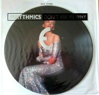 "MINT THE EURYTHMICS DON'T ASK ME WHY  12"" VINYL 45 PICTURE DISC"