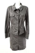 BIBA CRISCA Kostüm Gr.40 Baumwolle Blazer Rock Jacket Skirt Casual Business Suit