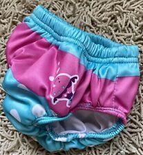 Swimways Baby Swim Diaper Pink & Polka Dots Size 24m