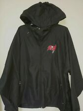 0903 Mens NFL Team Apparel NFL TAMPA BAY BUCCANEERS  Full Zip HOODED JACKET New