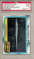 1980 STAR WARS #135 THE EXECUTOR - EMPIRE STRIKES BACK  PSA 9  MINT