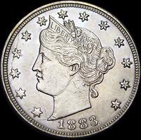 1883 W/Cents Liberty V Nickel --- STUNNING --- #V624