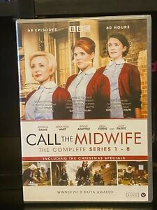Call the Midwife - Complete Series 1-8 (DVD)  Vanessa Redgrave