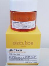 Decleor Nacht Balsam, green Mandarin ätherische Öle 15ml, Brandneu Box, RRP £ 50