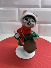 """2010 Annalee 6"""" Drummer Mouse"""