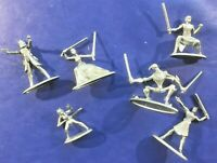 Monopoly Star Wars The Clone Wars Pieces 6 Pewter Tokens Anakin Obi-Wan Grievous