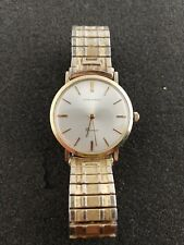 VINTAGE LONGINES COSMO WRISTWATCH RUNNING AND KEEPING TIME
