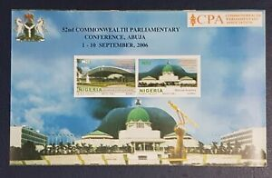 NIGERIA SHEET BLOC - 2006 COMMONWEALTH PARLIAMENTARY CONFERENCE ABUJA - RARE MNH