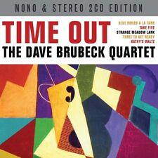 DAVE QUARTET BRUBECK - TIME OUT 2 CD NEUF