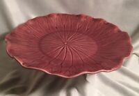 """Vintage Metlox Poppytrail Lotus Dinner Plate 11"""""""