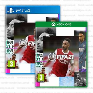 FIFA 21 Cover - Pierre-Emerick Aubameyang for XBOX PS4 - Arsenal FIFA 21 Cover