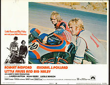 MOTORCYCLE MOTO CROSS RACING/YAMAHAorig 1970 lobby card poster ROBERT REDFORD