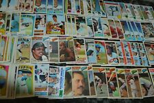 1960's-1982 VINTAGE BASEBALL CARD COLLECTION!!! OVERALL EX-NM!!! MUST SEE!!!