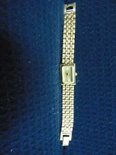 GIVENCHY PARIS LADIES QUARTZ GOLD PLATED GOLD DIAL WATCH IN WORKING CONDITION