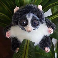 Fantasy Loris Lemur OOAK Fauna Wildlife Handmade Polymer Clay Doll Creature