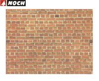 """NOCH H0/TT 57730 Mauerplatte """"Ziegelstein"""" 64 x 15 cm (1 m² - 35,32 €) - NEU"""