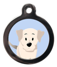 Labrador Pet ID Tags - Custom Breed Dog Name Pet Tags For Collar Engraved* FREE