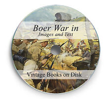 Boer War Vintage Books Images Photo Transvaal History South Africa Anglo DVD 243
