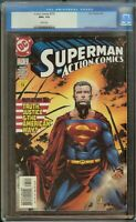 Action Comics Comic #775 (2001) CGC 9.6 White Pages