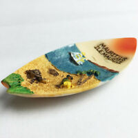 1pc Resin Mauritius Canoe Ship Fridge Magnet Refrigerator Sticker Home Decor