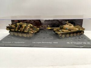 Set dos tanques 1:72 World of tanks tanque diecast #08