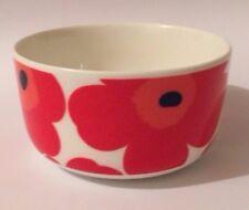 Marimekko Red Unikko Cereal / Soup Bowl