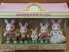 Epoc Sylvanian Families Grinpa rabbit family Rare Nonohana usagi Japan Limited